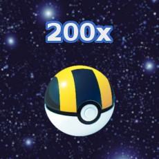 Pokemon GO 200x Hyperball Inventar füllen