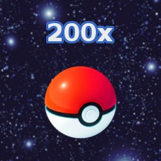 Pokemon GO 200x Pokeball Inventar füllen