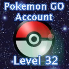 Pokemon GO Account Level 32