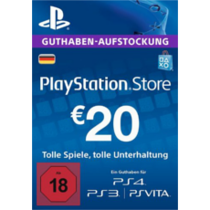 20 Euro Playstation Network Card DE