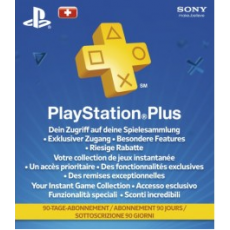 Playstation Plus 90 Tage CH - only for Switzerland!
