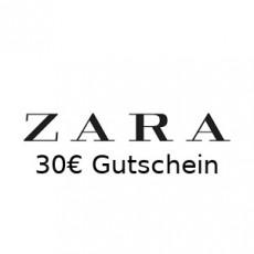 30€ ZARA Gutschein