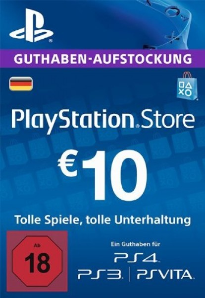 10 euro playstation network card de. Black Bedroom Furniture Sets. Home Design Ideas