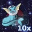 Pokemon 10x Aquana