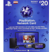 20 Euro Playstation Network Card - only for Austria