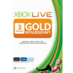 Xbox Live: 3 Monate Gold Mitgliedschaftskarte