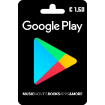 1,50€ Google Play Gift Card