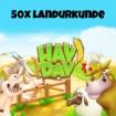 HayDay 50x Landurkunde