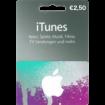 2,50 Euro iTunes Geschenkkarte