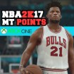NBA 2K17 XBOX One MT Points