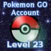 Pokemon GO Account Level 23