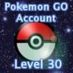 Pokemon GO Account Level 30